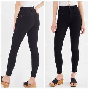 BDG   Black Ankle Cigarette Skinny Jeans